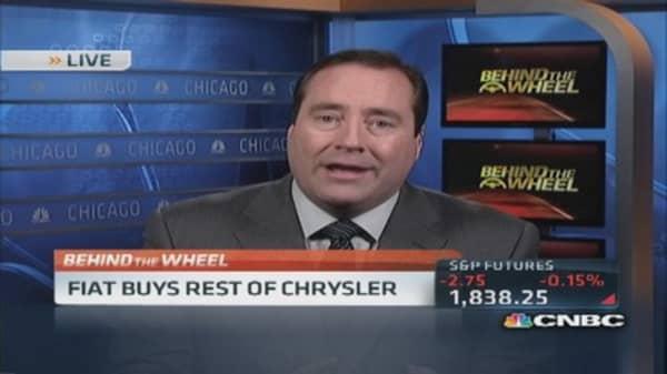 Fiat buys remaining stake in Chrysler