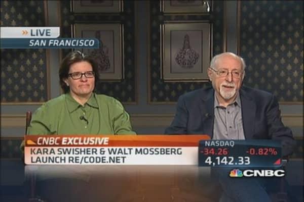 Mossberg & Swisher launch 'Re/code'