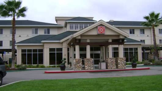Hilton Garden Inn in Redding, Calif.