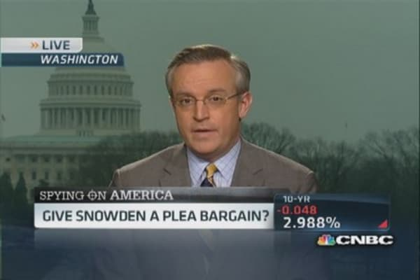Clemency for Snowden?