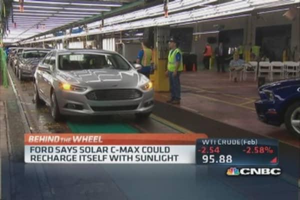 Ford's solar concept car