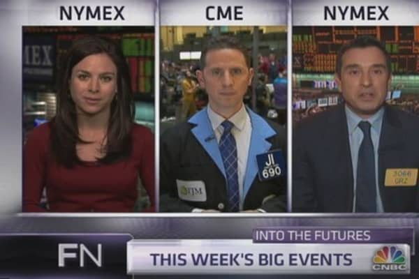 Into the Futures: Trading the jobs report