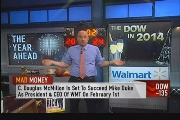 Wal-Mart will go down in 2014: Cramer