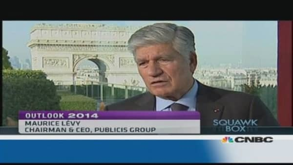 Soccer World Cup to drive advertising market in 2014: Publicis CEO