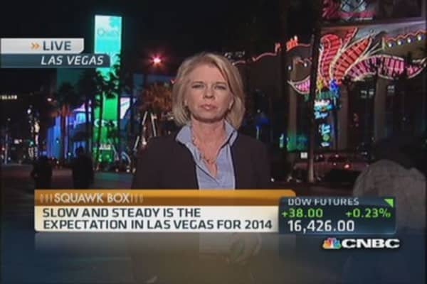 Will 2014 be lucky for Las Vegas?