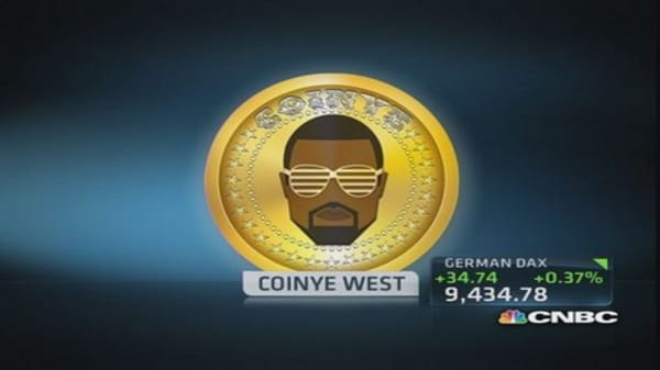 Kanye West is inspiration for digital currency