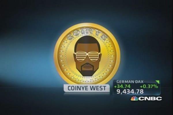 Kanye West is inspiration for digital currency