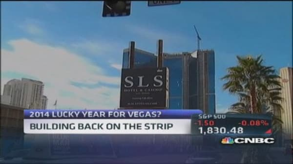 Lucky year for Vegas?