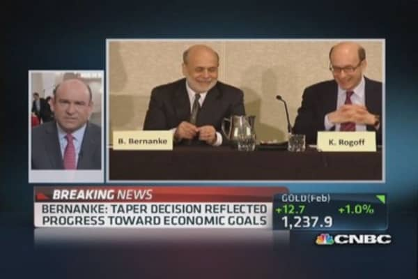 Bernanke to give potential last speech as Fed chair