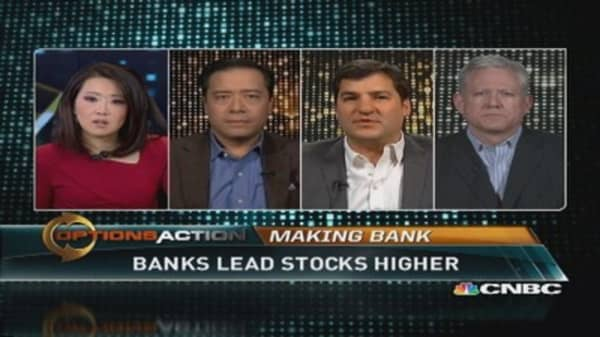 Banks to lead market in 2014?