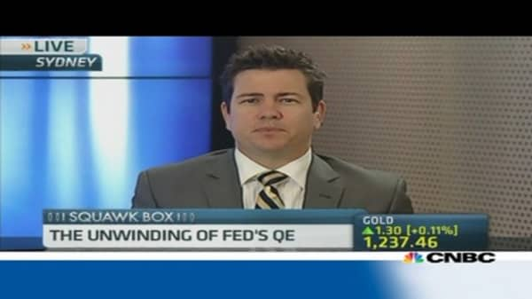 Expect Fed to wind down QE by Oct: HSBC