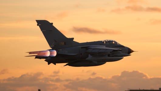 BAE Systems Tornado jet