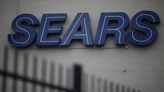 Sears Holdings Corp. signage
