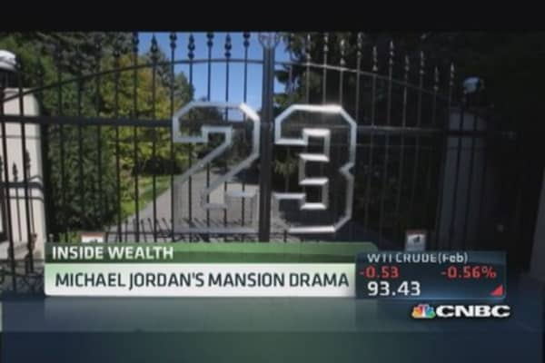 Michael Jordan's mansion drama