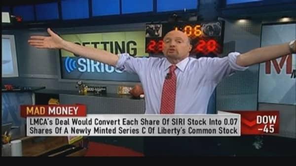 Liberty Media and SiriusXM fabulous deal: Cramer