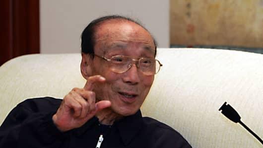 Hong Kong media mogul and philanthropist Run Run Shaw.