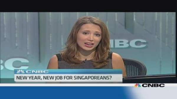 New year, new job for Singaporeans?