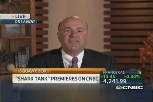 CNBC's 'Shark Tank' premieres tonight