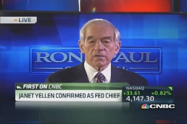 Ron Paul: Correction hasn't corrected anything