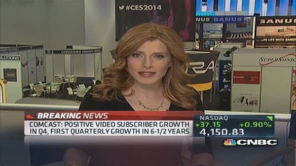 Comcast: Positive video subscriber growth