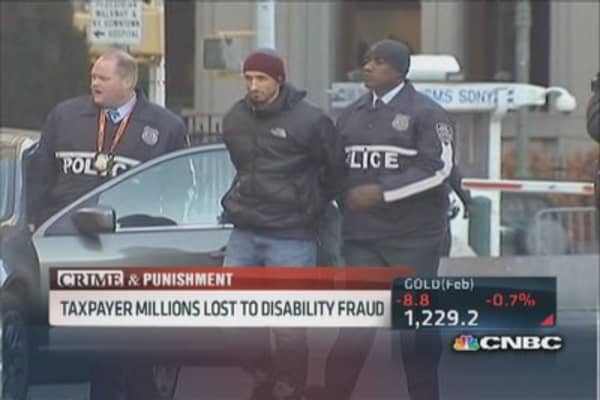 Retired cops & firefighters face disability fraud