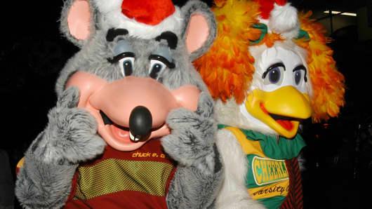 Chuck E. Cheese's mascots