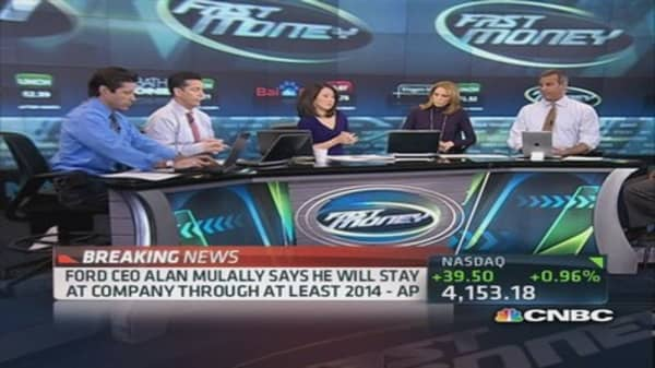 FM traders applaud as Mulally stays at Ford