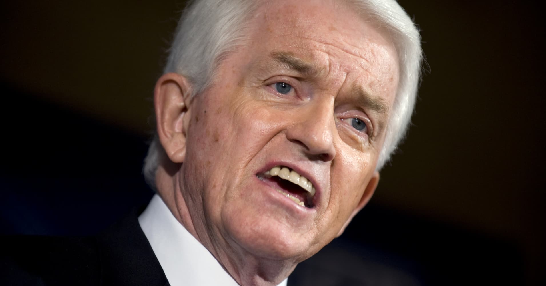 Chamber of Commerce CEO Tom Donohue says pulling out of NAFTA would mean 'absolute destruction' for the economy