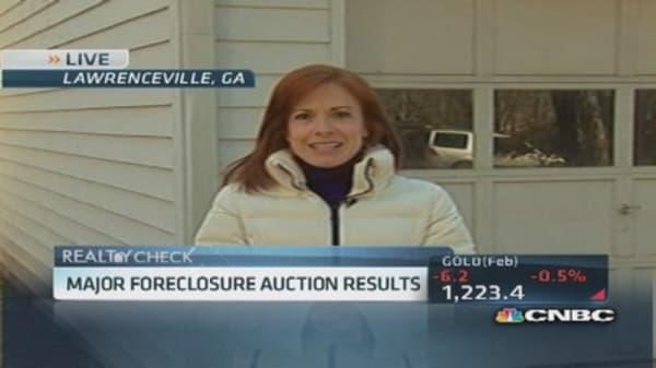 Investors break into foreclosed homes