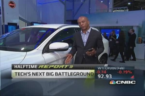 Big automobile announcements at CES