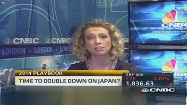 Godfrey: Bet on Japanese small caps