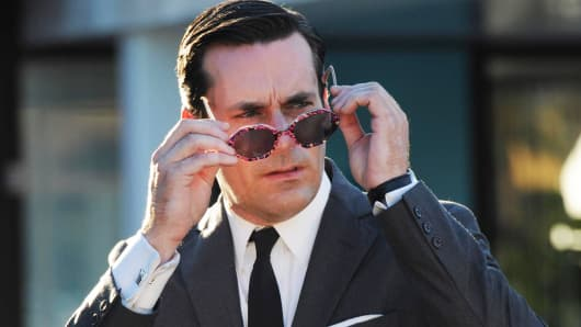 "Jon Hamm as Don Draper in ""Mad Men"""