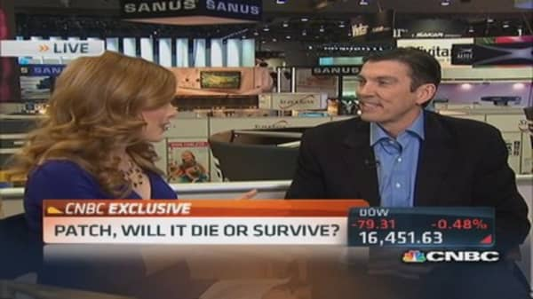 AOL CEO: Expect Patch announcements in Q1