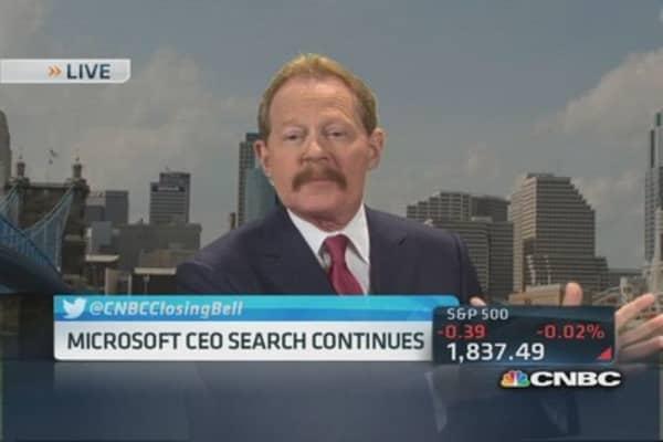 Microsoft CEO search continues