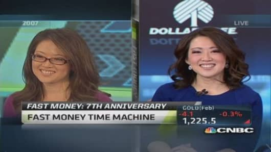 Fast Money 7th: Then & now