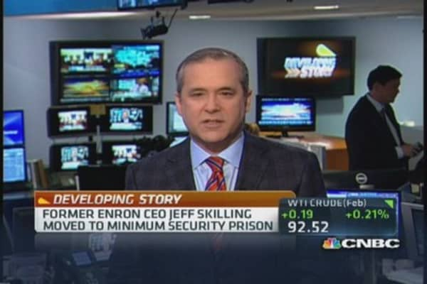 Former Enron CEO Skilling on the move