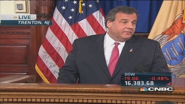 Gov. Christie apologizes to the state of New Jersey
