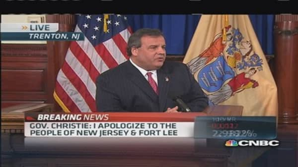 Gov. Christie: I'm tough, not a bully