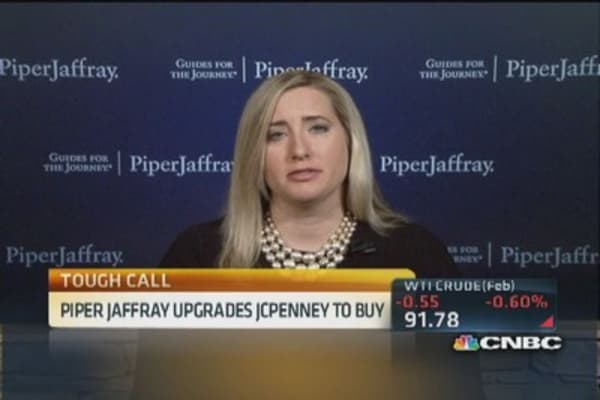JC Penney on the rebound?