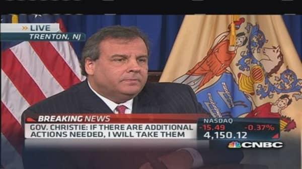 Gov. Chris Christie: I'm not preoccupied with presidency