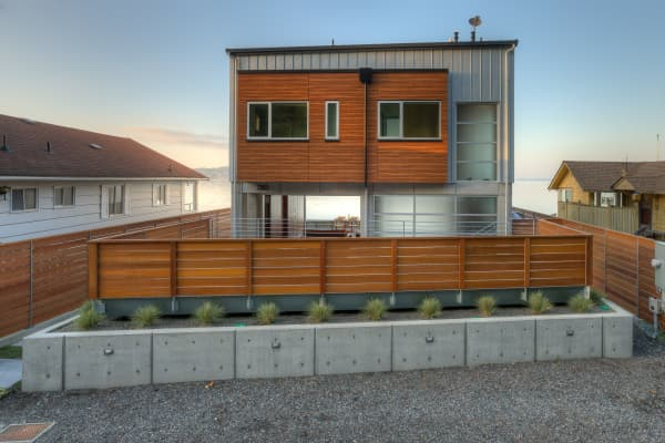 This house is built to sustain a Tsunami.
