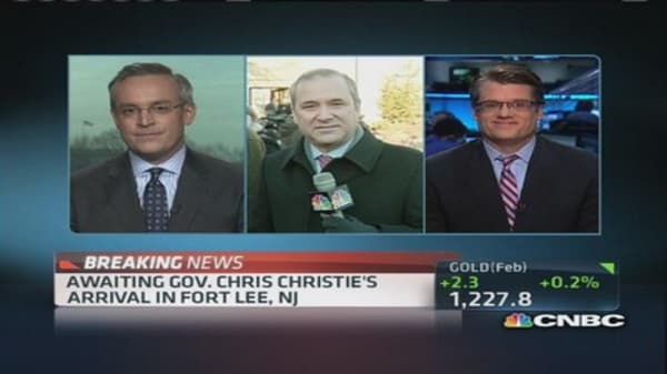 Christie appointee pleads the Fifth