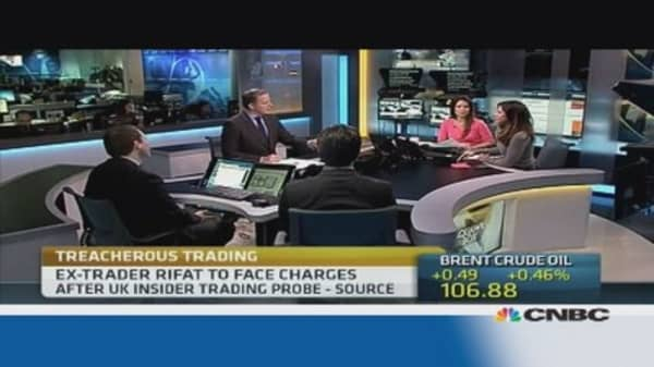 Former trader Rifat to be charged in insider trading case