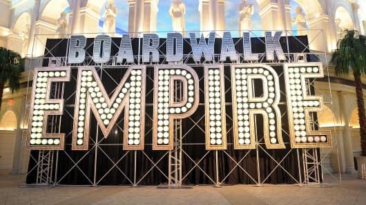 Boardwalk Empire series on HBO.