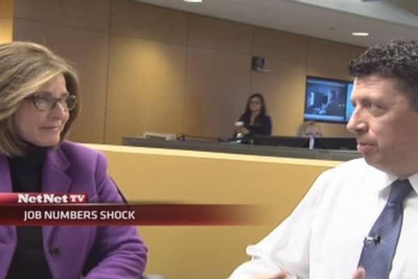 Jobs number shock