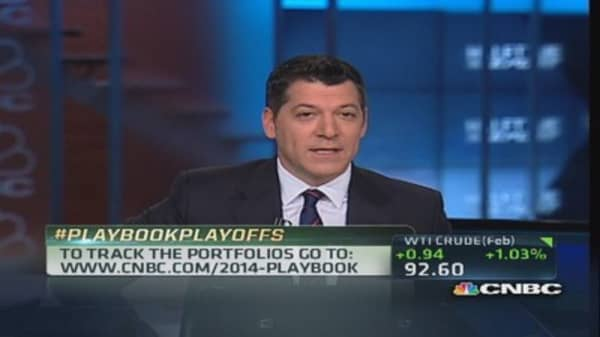 Traders weigh in on Playbook Playoffs