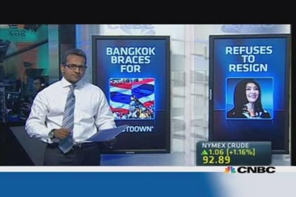 Bangkok on the brink of 'shutdown'