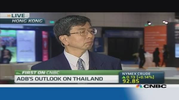 ADB projects 4.7% growth for Thailand