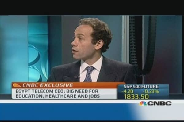 Egypt can have democracy and stability: Egypt Telecom CEO