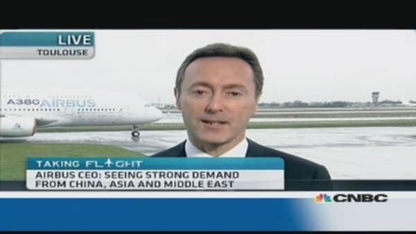 Airbus 'runs the show': CEO